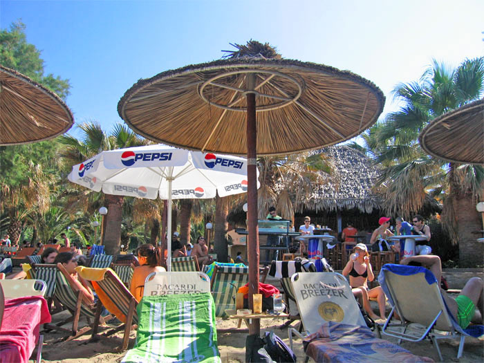 Beach Bars In Chania Crete Enjoy Yourselves Thehotelgr