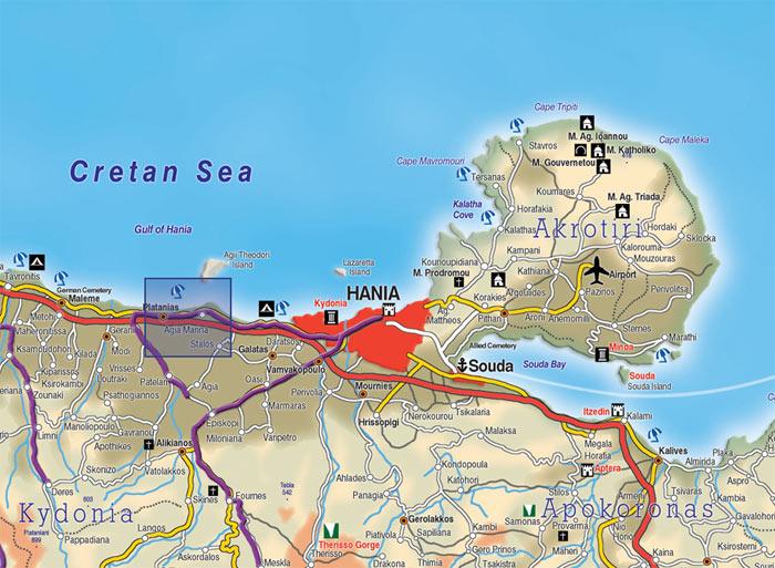 agia marina kreta kart Kreta Kart Kart