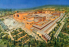 Knossos Depiction
