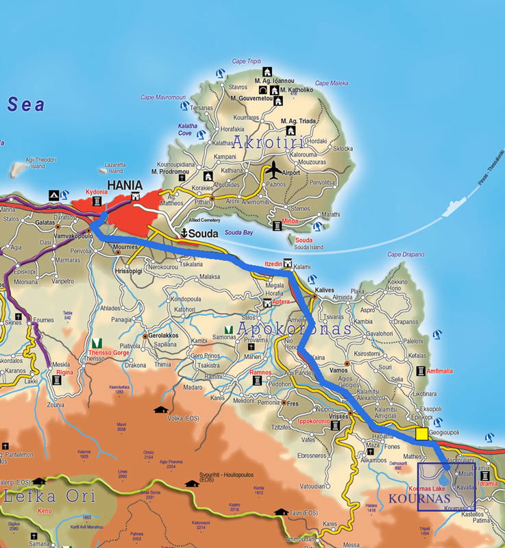 Excursions In Chania Area Crete Thehotel Gr