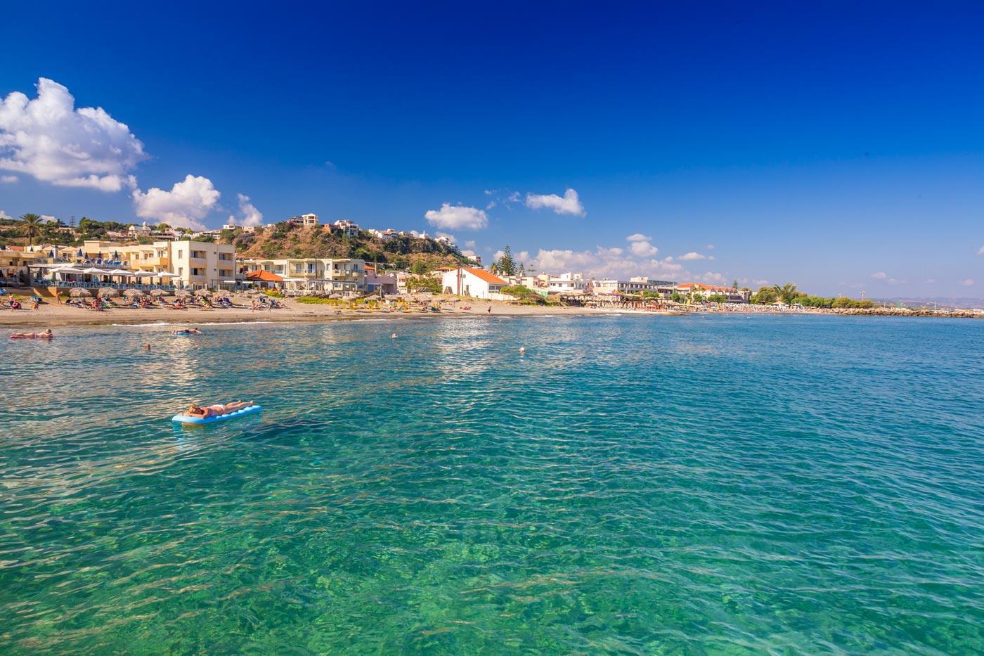 Chania Crete Beach Resorts