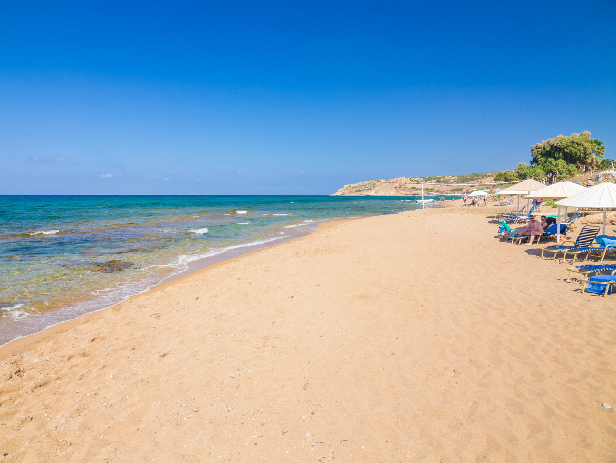 Rethymnon Beach Reviews