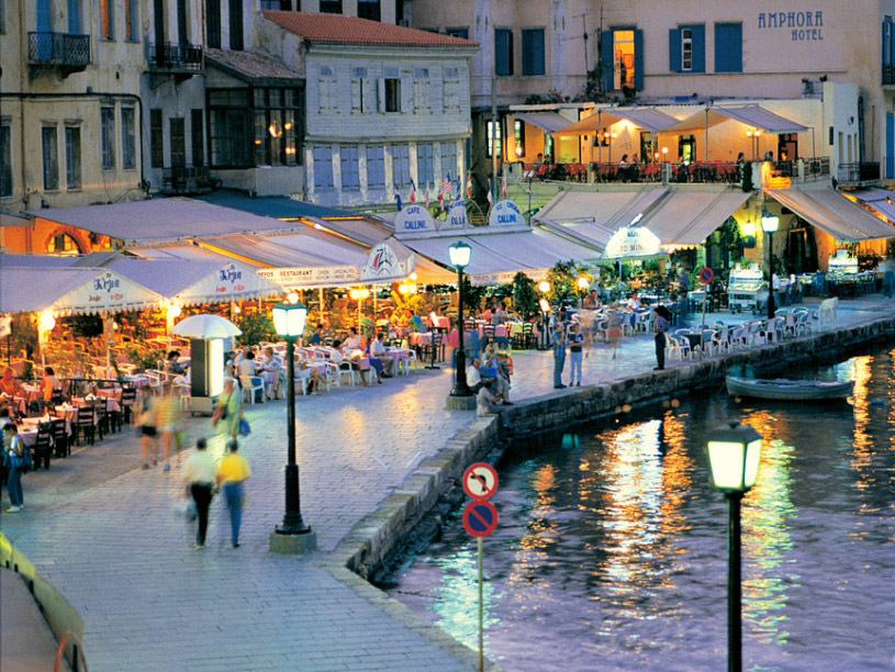 Taverns and restaurants What to see Chania Kreta