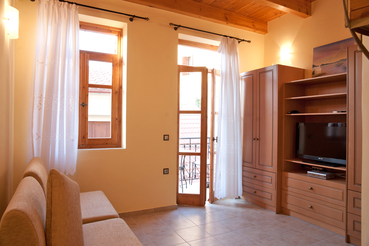 Mili house in chania town chania for Small friendly hotels