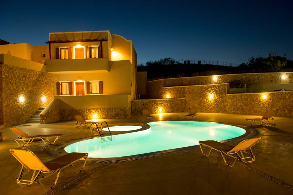 Moonlight Apartments Fira Pool 1g