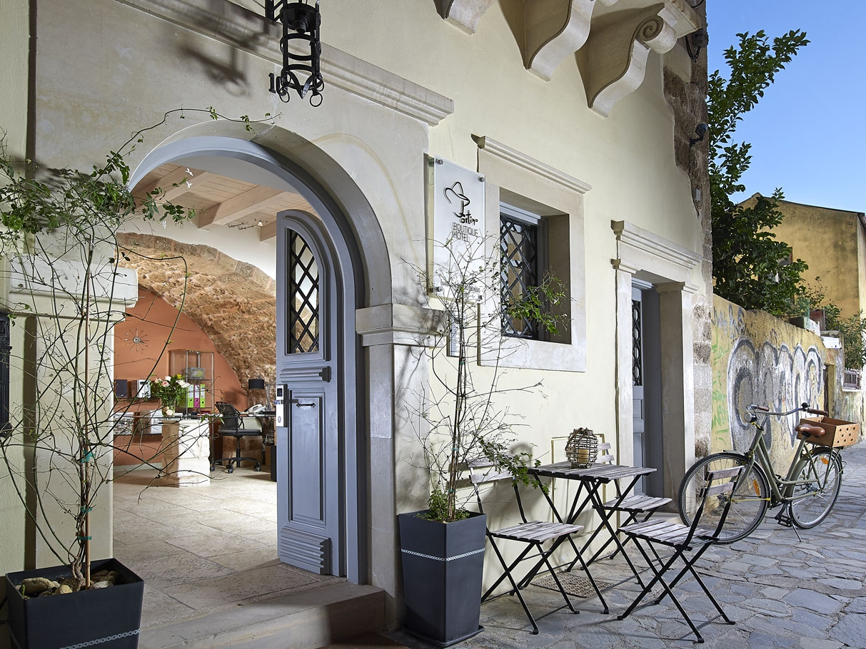 Fortino boutique hotel in chania town chania for Boutique hotel crete