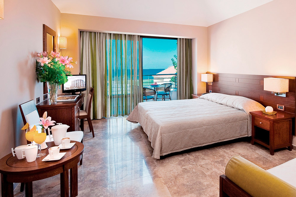 Basic double rooms of porto platanias beach resort in platanias porto platanias beach resort platanias apartment sciox Choice Image