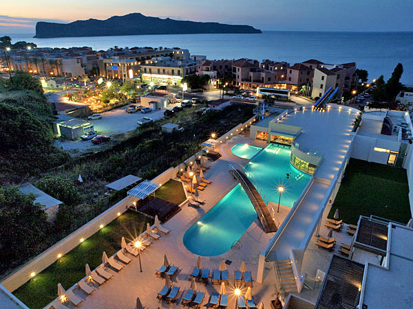 Accommodation Of Iolida Beach Hotel In Agia Marina