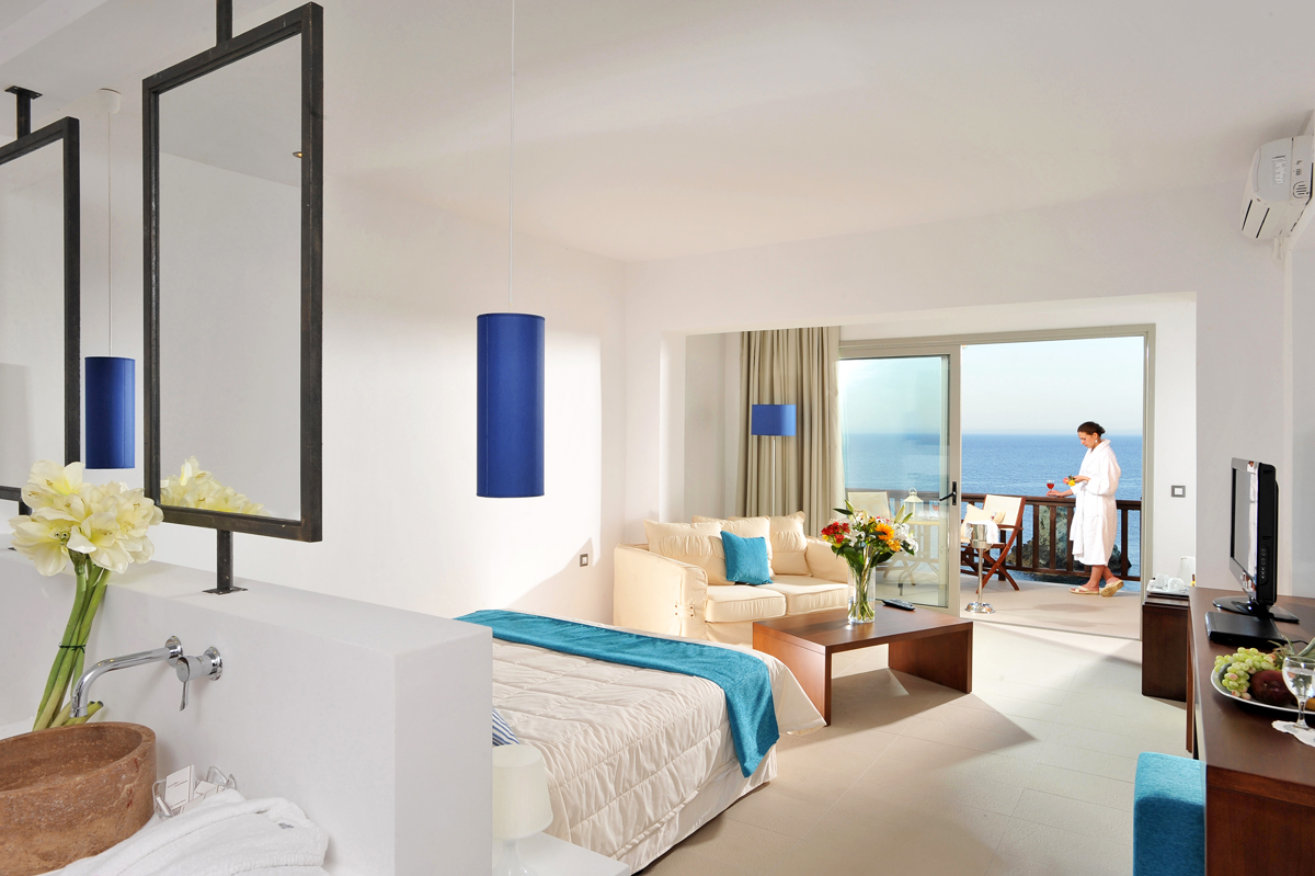 Accommodation Of Sea Side Resort Amp Spa In Agia Pelagia