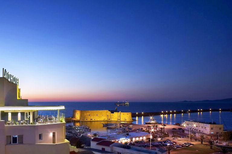 Facilities of lato boutique hotel in heraklion town for Boutique hotel crete