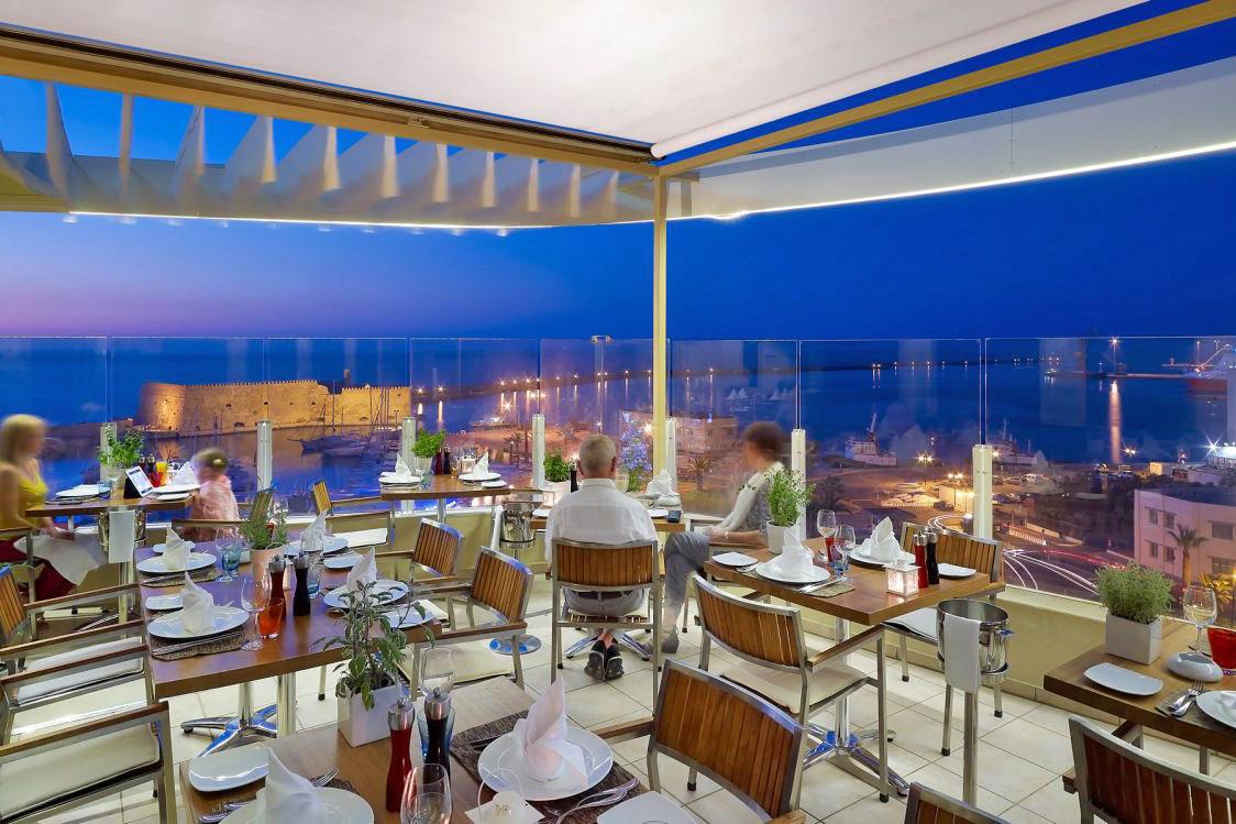 Lato boutique hotel in heraklion town heraklion for Cuisine garden