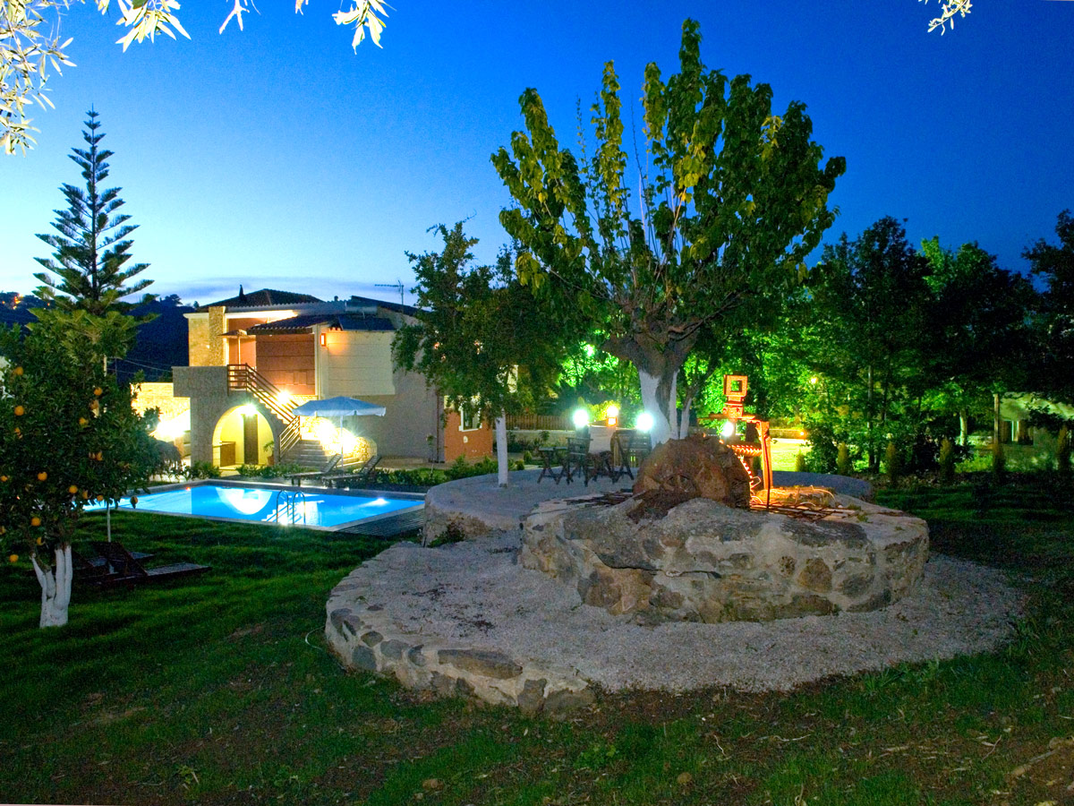 Facilities Of Nature Heaven Villa In Tavronitis