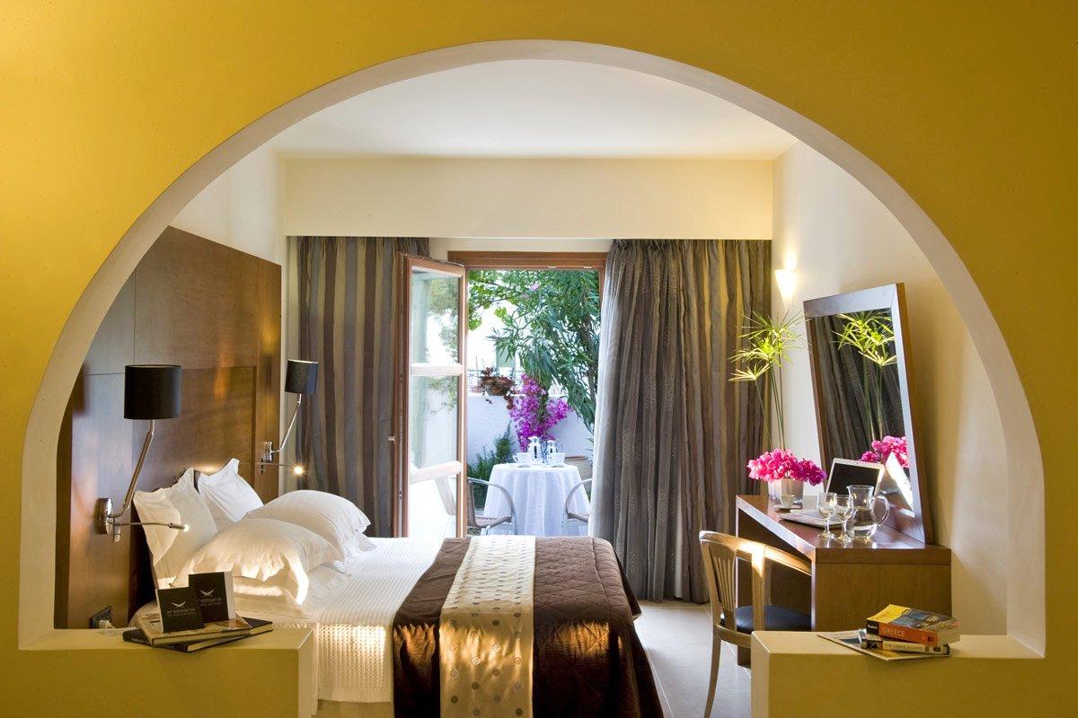 bedroom suite on Aressana Spa Hotel   Suites  Fira  Santorini