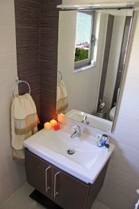 Pretty Villa, Platanias, bathroom-1