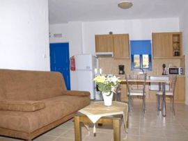 Kiona Apartments, Plakias, apartment-kitchen