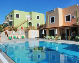 Perla Apartments, Agia Pelagia, pool-1