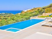 White Modern Villas in Creta, Heraklion, Agia Pelagia