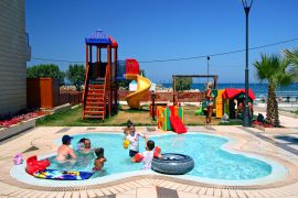 Porto Platanias Beach Resort, Platanias, childrens-pool-play-ground