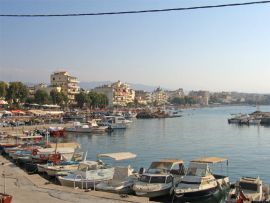 Waterfront of Nea Chora
