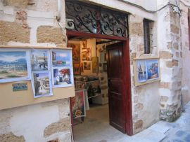 Shops Chania Old Town