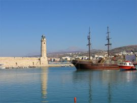 Excursions from Chania, Chania town, Rethymnon Lighthouse 1