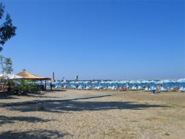 Rethymnon sandy beach 1