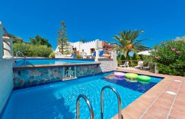 Thodorou Sunset Villa, Stalos, pool-area-2a