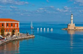Lucia Hotel, Chania town, old-harbour-I