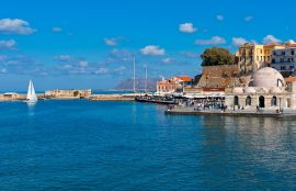 Lucia Hotel, Chania town, old-harbor-II