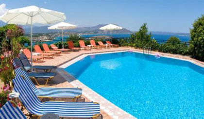 Emerald Apartments, Plaka, pool-area-13