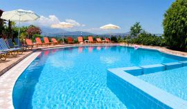 Emerald Apartments, Plaka, pool-area-12