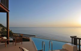 Sea Side Resort & Spa, Agia Pelagia, family room sea view 2 bedrooms independent pool