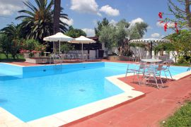 Oasis Guesthouse, Chania town, pool-area-2