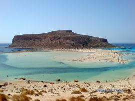 Excursions from Chania, Chania town, beach of Balos
