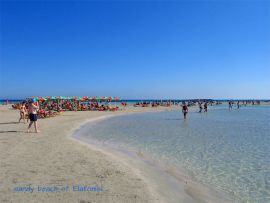 Excursions from Chania, Chania town, beach of Elafonisi