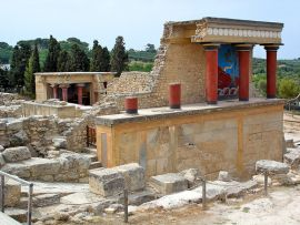Excursions from Chania, Chania town, knossos palace