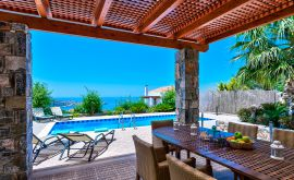 Okeanides Villas, Bali, pool-area-11