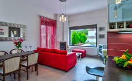 Pretty Villa, Platanias, living-room-12