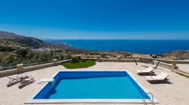 Libyan View Villa, Plakias, pool-view-11