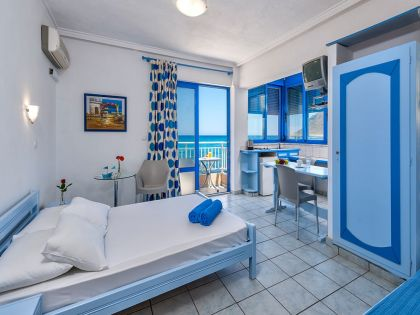 Blue Beach Apartments, Stavros, studio-12a