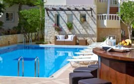 Elotis Suites, Agia Marina, pool-bar-I-a
