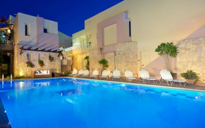 Elotis Suites, Agia Marina, swimming-pool-IIa