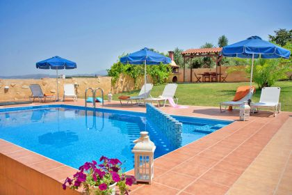 Villa Colorful, Agia Marina, swimming-pool-area-13a