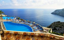 CHC Athina Palace Hotel and Spa, Agia Pelagia, pool-area-2