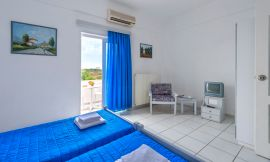 Eleana Apartments, Stavros, one-bedroom-apt-1c