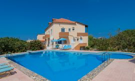 Eleana Apartments, Stavros, swimming-pool-area-6