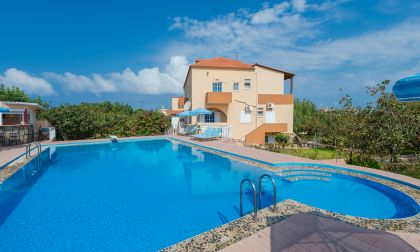 Eleana Apartments, Stavros, swimming-pool-area-8