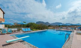 Eleana Apartments, Stavros, swimming-pool-area-7