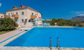 Eleana Apartments, Stavros, swimming-pool-area-10