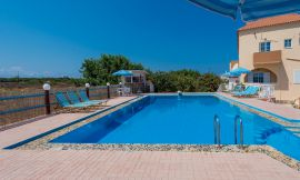 Eleana Apartments, Stavros, swimming-pool-area-1
